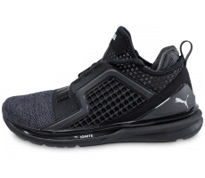 Chaussures Puma Ignite Limitless Knit noire
