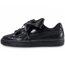 Chaussures Puma Basket Heart Night Sky noire