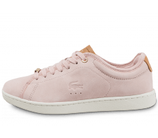 Chaussures Lacoste Carnaby Evo 317 W rose