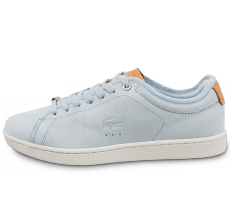 Chaussures Lacoste Carnaby Evo 317 W bleue