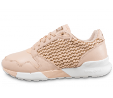 Chaussures Le Coq Sportif Omega X W Woven beige