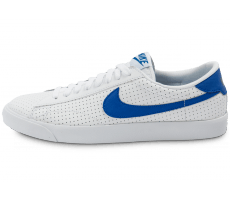 Chaussures Nike Tennis Perf blanche et bleue