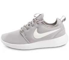 Chaussures Nike Roshe 2 W grise et blanche
