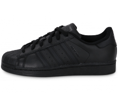 Chaussures adidas Superstar Foundation junior noire