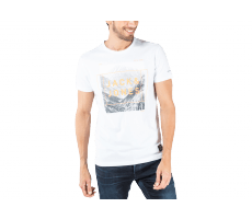 Textiles Jack & Jones T-Shirt Square blanc