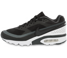 Chaussures Nike Air Max BW Ultra noire et blanche