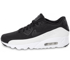 Chaussures Nike Air Max 90 Ultra Moire noire et blanche