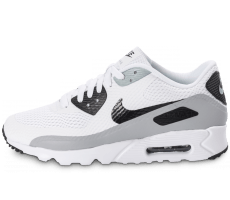 Chaussures Nike Air Max 90 Ultra Essential blanche et grise