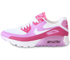 Chaussures Nike AIR MAX 90 ULTRA BR BLANCHE ROSE
