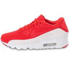 Chaussures Nike Air Max 90 Ultra Moire rouge