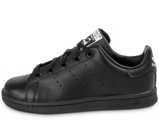 Chaussures adidas Stan Smith Enfant noire