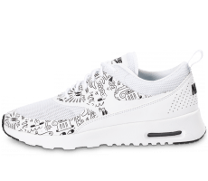 Chaussures Nike Air Max Thea Print Steven Harrington blanche