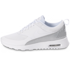 Chaussures Nike Air Max Thea TXT white grey Metallic