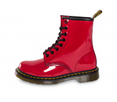 Chaussures Dr Martens 1460 rouge vernis