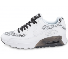 Chaussures Nike Air Max 90 Ultra Print blanche Steven Harrington