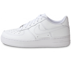 Chaussures Nike Air Force 1 junior blanche