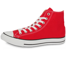 Chaussures Converse CHUCK TAYLOR ALL-STAR HI ROUGE