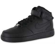 Chaussures Nike Air Force 1 mid J Triple black