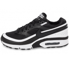 Chaussures Nike Air Max BW Junior noire et blanche