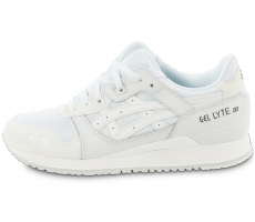 Chaussures Asics Gel Lyte 3 Monochrome White