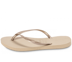 Chaussures Havaianas TONGS BEIGE