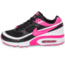 Chaussures Nike Air Max BW Junior noire et rose