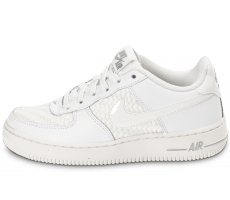 Chaussures Nike Air Force 1 LV8 Low Junior blanche