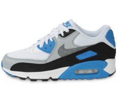 Chaussures Nike AIR MAX 90 GAMMA BLUE JUNIOR