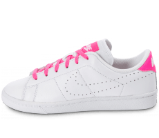 Chaussures Nike Tennis Classic Junior blanche et rose