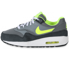 Chaussures Nike AIR MAX 1 JUNIOR GRISE VOLT