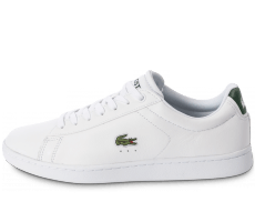 Chaussures Lacoste Carnaby EL blanche et verte