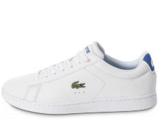 Chaussures Lacoste Carnaby EL blanche et bleue