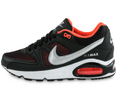 Chaussures Nike Air Max Command Junior noir orange