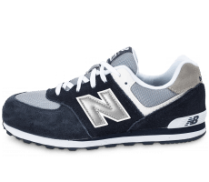 Chaussures New Balance KL574 NWG Junior bleu marine