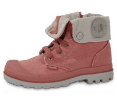 Chaussures Palladium BAGGY ENFANT OLD ROSE