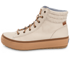 Chaussures Keds high Rise Leather Wool beige
