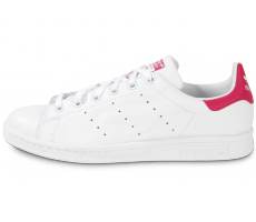 Chaussures adidas Stan Smith blanche et rose