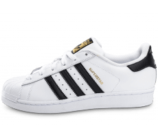 Chaussures adidas Superstar Foundation junior blanc noir