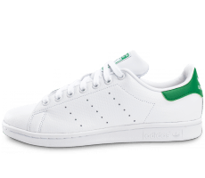 Chaussures adidas Stan Smith Woven blanche et verte