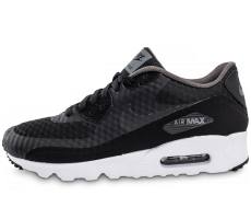 Chaussures Nike Air Max 90 Ultra Essential noire et grise