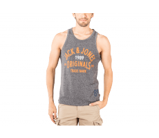 Textiles Jack & Jones Debardeur Athletic Top Tank gris