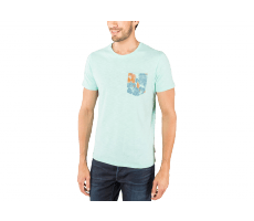 Textiles Jack & Jones T-Shirt Tropical vert eau