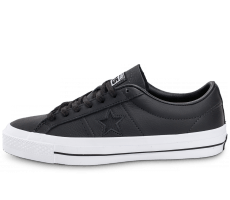 Chaussures Converse One Star Leather noire