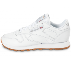 Chaussures Reebok Classic Leather Gum blanche