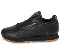 Chaussures Reebok Classic Leather Gum noire