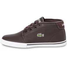 Chaussures Lacoste Ampthill Leather marron