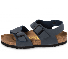Chaussures Birkenstock New York Junior bleu marine
