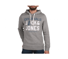 Textiles Jack & Jones Sweat à Capuche Massoum gris