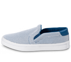 Chaussures adidas Court Vantage Slip-On bleue