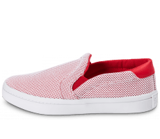Chaussures adidas Court Vantage Slip-On rouge